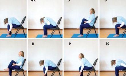 Chair Yoga – The Sun Salute